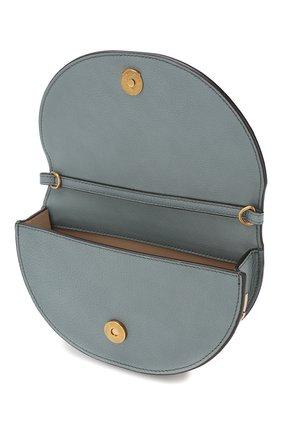 Женская сумка nile minaudière CHLOÉ голубого цвета, арт. CHC17US302H5H | Фото 4