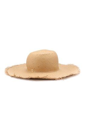 Женская соломенная шляпа brigitte LORO PIANA бежевого цвета, арт. FAI6010 | Фото 1