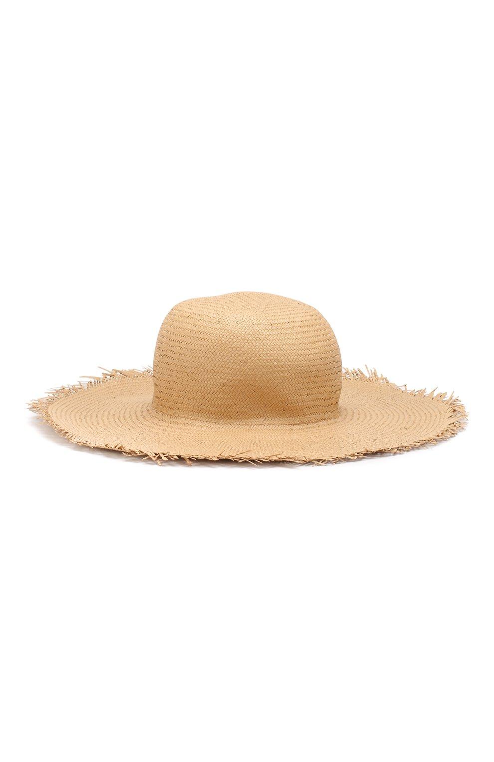 Женская соломенная шляпа brigitte LORO PIANA бежевого цвета, арт. FAI6010 | Фото 2