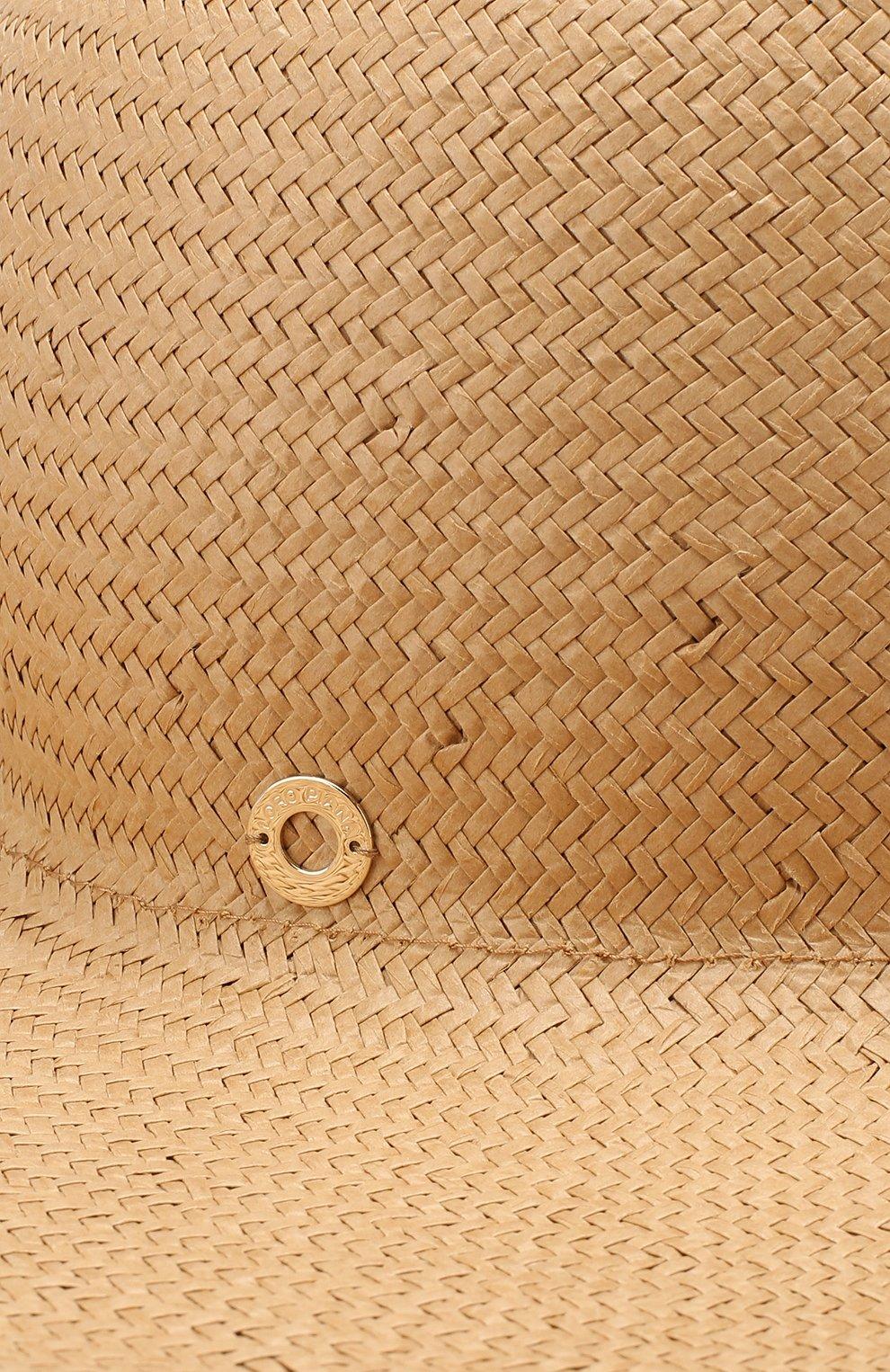 Женская соломенная шляпа brigitte LORO PIANA бежевого цвета, арт. FAI6010 | Фото 3
