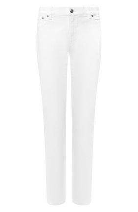 Женские джинсы прямого кроя RALPH LAUREN белого цвета, арт. 290626691 | Фото 1