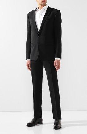 Мужской костюм DOLCE & GABBANA черного цвета, арт. GK0EMT/FUCD6 | Фото 1