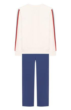 Комплект из хлопкового свитшота и брюк | Фото №2