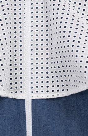 Детская хлопковый бомбер PAADE MODE синего цвета, арт. 92035/10Y-16Y   Фото 3 (Рукава: Длинные; Кросс-КТ: бомбер; Материал внешний: Синтетический материал, Хлопок, Полиэстер; Статус проверки: Проверено; Материал подклада: Хлопок; Ростовка одежда: 12 лет   152 см)