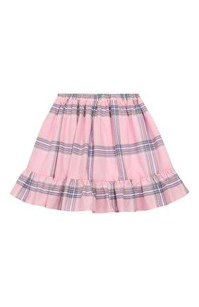 Детская хлопковая юбка PAADE MODE розового цвета, арт. 92042/10Y-16Y | Фото 2