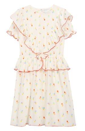 Детское платье из вискозы PAADE MODE разноцветного цвета, арт. 92112/10Y-16Y | Фото 1