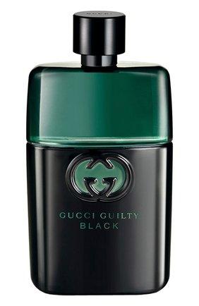 Мужской туалетная вода guilty black pour homme GUCCI бесцветного цвета, арт. 0737052626383 | Фото 1