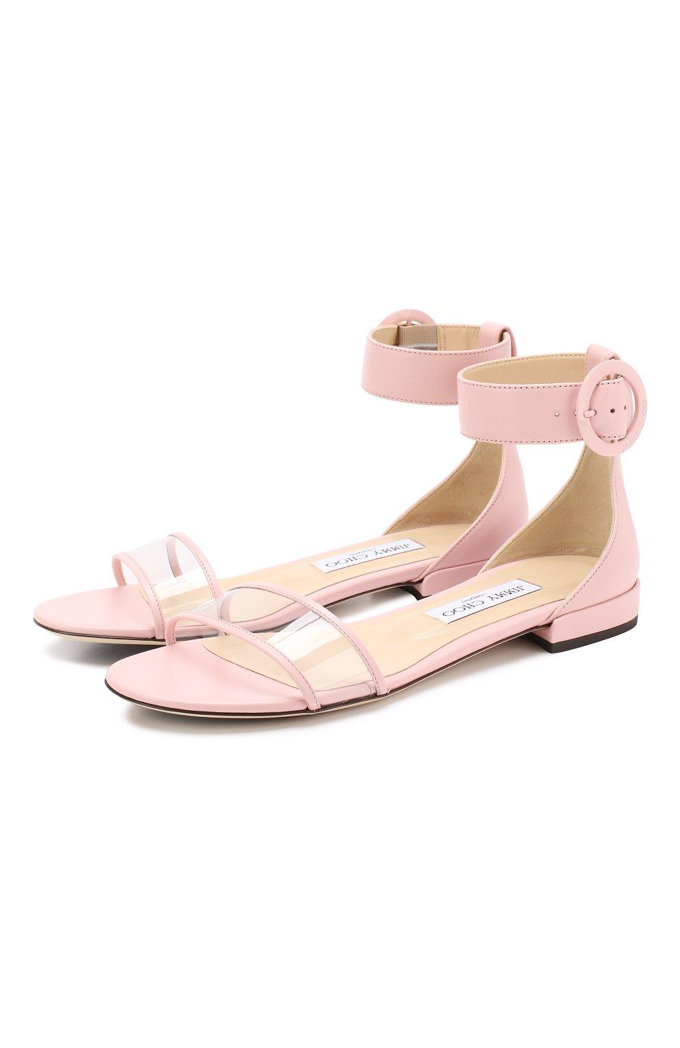 Кожаные сандалии Jamie  | Фото №1
