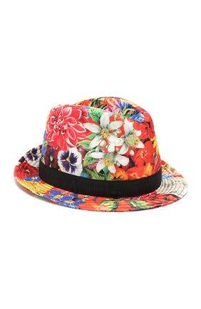 Шелковая шляпа-федора | Фото №1