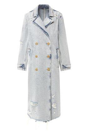 Джинсовое пальто   Фото №1