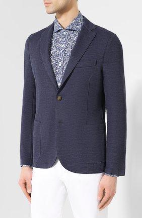 Хлопковый пиджак   Фото №3