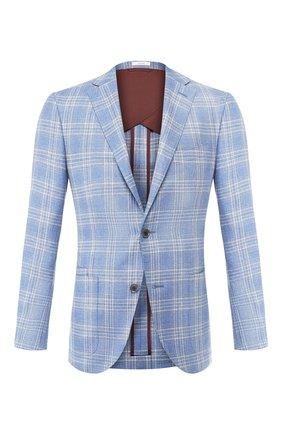 Пиджак из смеси шелка и льна | Фото №1