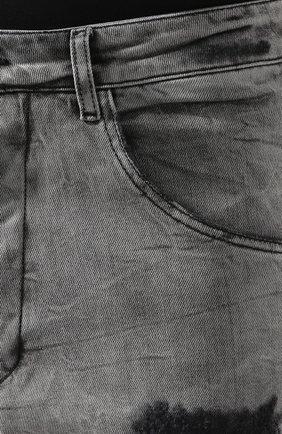 Джинсы Thom Krom серые | Фото №5