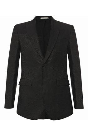 Пиджак из смеси льна и шелка | Фото №1