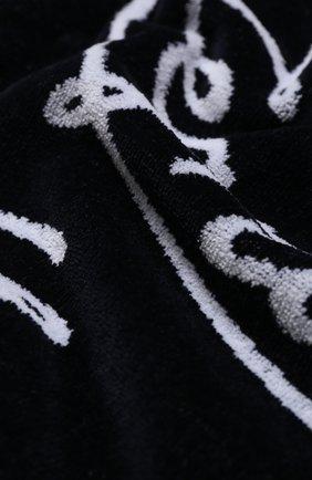 Мужские хлопковое полотенце ERMENEGILDO ZEGNA темно-синего цвета, арт. N7P000700 | Фото 2