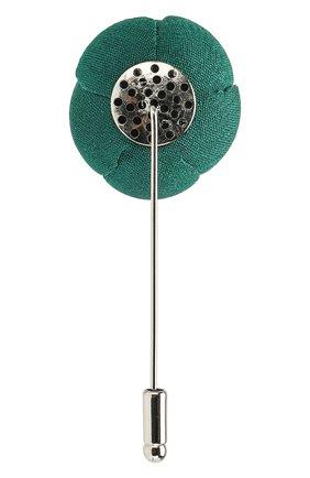 булавка для галстука FLOWER ME зеленого цвета, арт. CMML-NS008010S | Фото 2
