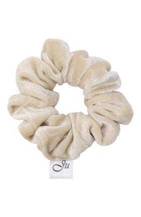 Детская резинка для волос JUNEFEE бежевого цвета, арт. 3051 | Фото 1