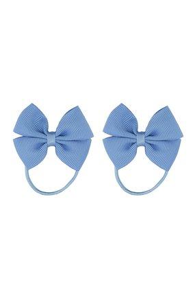 Детская комплект из 2-х резинок simple go JUNEFEE голубого цвета, арт. 4880 | Фото 1