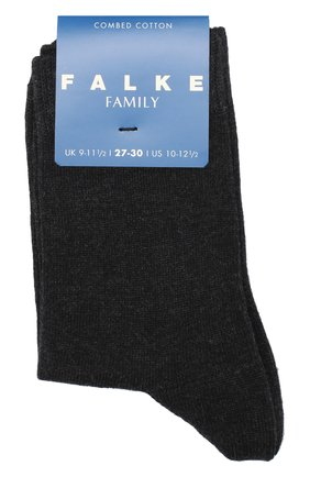 Детские хлопковые носки FALKE темно-серого цвета, арт. 10645 | Фото 1