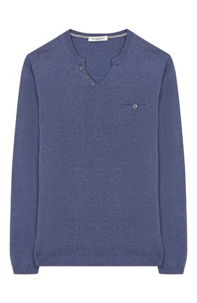 Пуловер из хлопка и льна | Фото №1