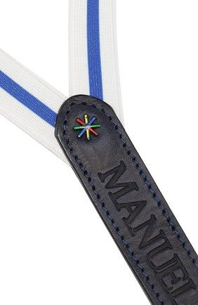 Детские подтяжки MANUEL RITZ синего цвета, арт. MR0770 | Фото 3