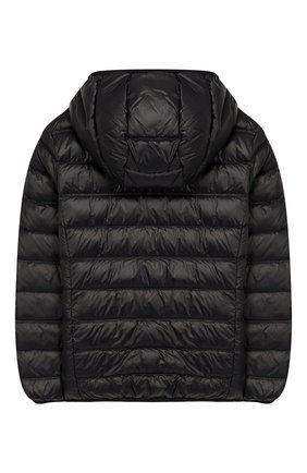 Детского пуховая куртка с капюшоном EA 7 черного цвета, арт. 8NBB34/BN29Z | Фото 2