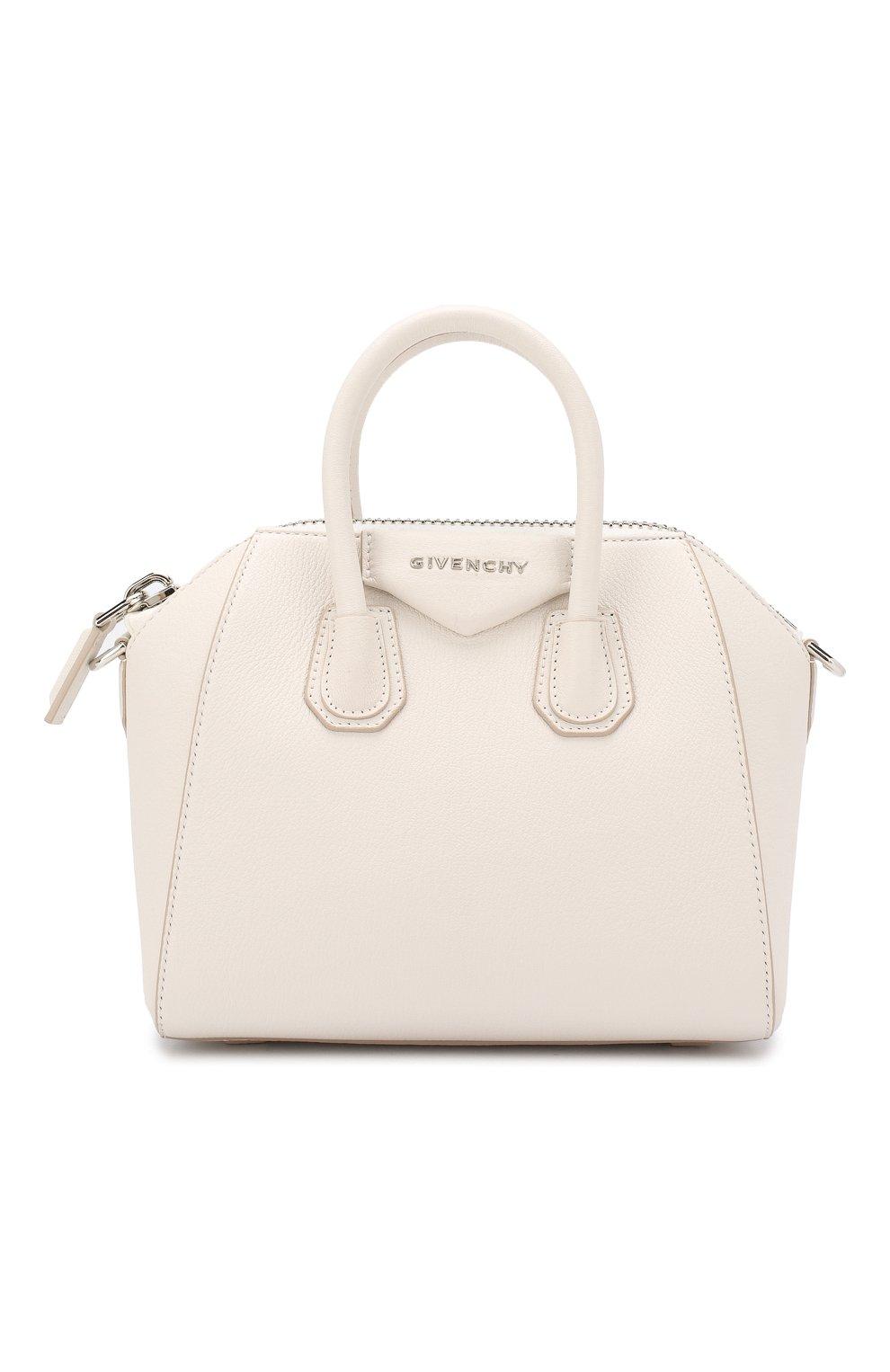 Сумка Antigona mini Givenchy белая цвета | Фото №1