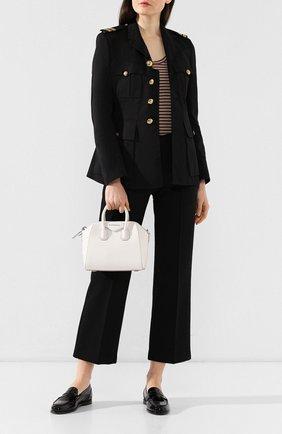 Сумка Antigona mini Givenchy белая цвета | Фото №2