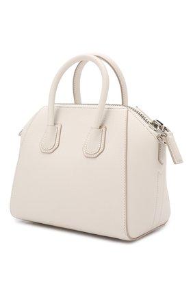 Сумка Antigona mini Givenchy белая цвета | Фото №3