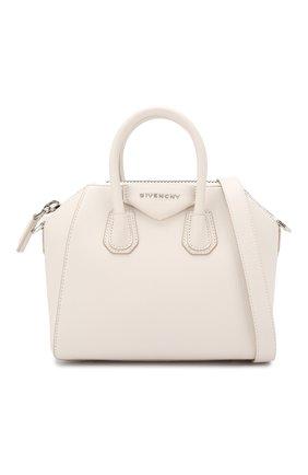 Сумка Antigona mini Givenchy белая цвета | Фото №6