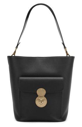 Сумка Ricky Bucket Ralph Lauren черная цвета | Фото №1
