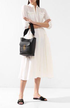 Сумка Ricky Bucket Ralph Lauren черная цвета | Фото №2