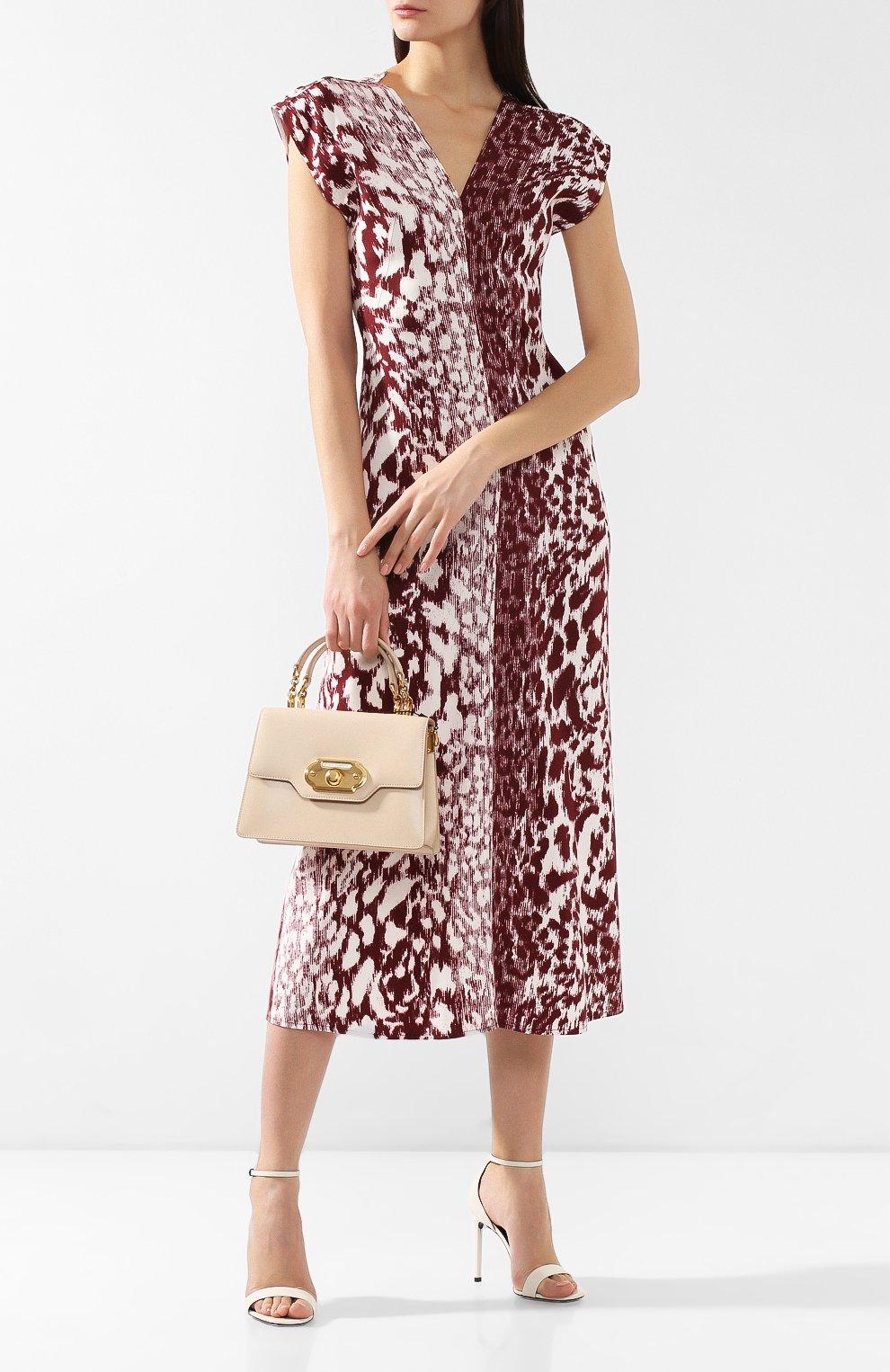 Сумка Welcome Dolce & Gabbana  светло-бежевая цвета | Фото №2