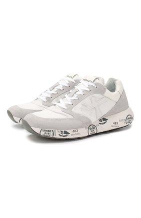 Комбинированные кроссовки Zac | Фото №1