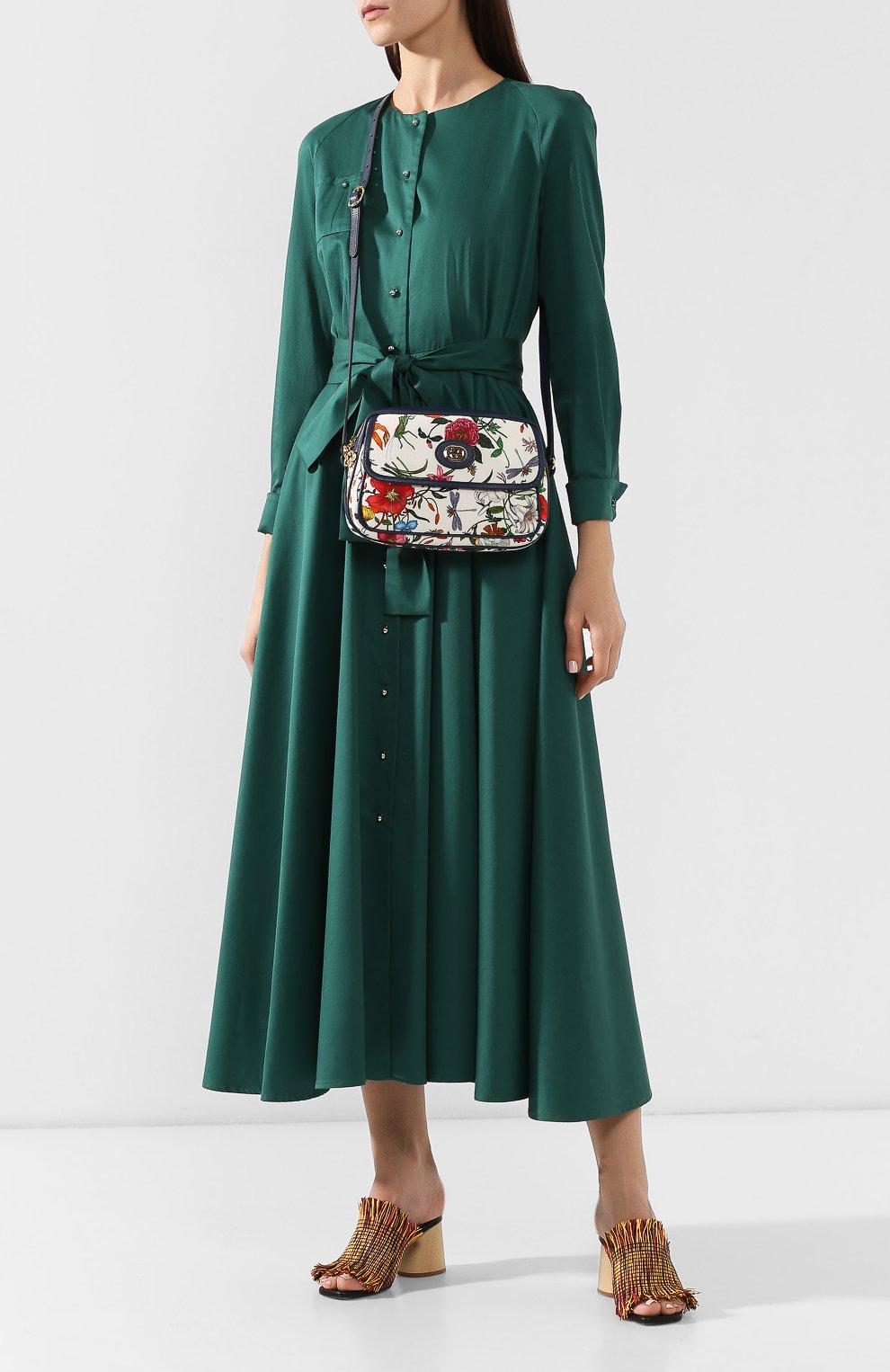 Сумка Flora Gucci разноцветная цвета | Фото №2