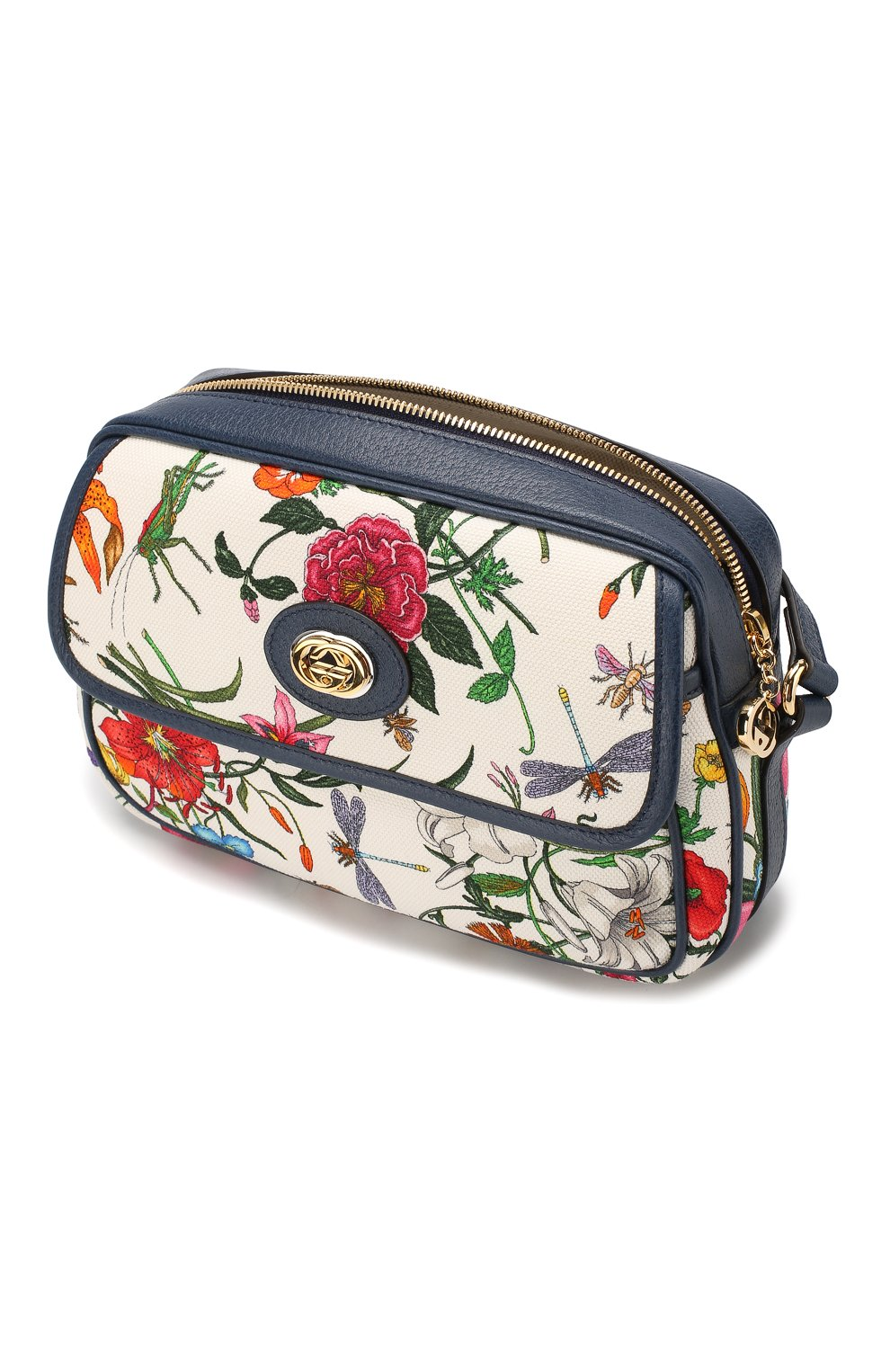 Сумка Flora Gucci разноцветная цвета | Фото №4