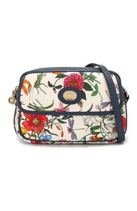 Сумка Flora Gucci разноцветная цвета | Фото №5
