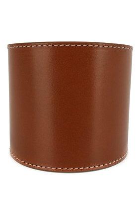 Женский кожаный браслет padlock TOM FORD коричневого цвета, арт. JW0808-VAXBR | Фото 2