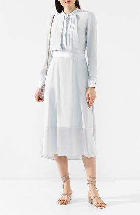Текстильные босоножки Cleo | Фото №2