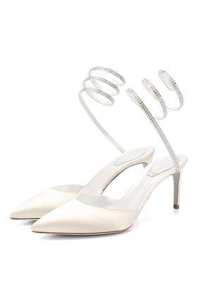Текстильные туфли Cleo | Фото №1