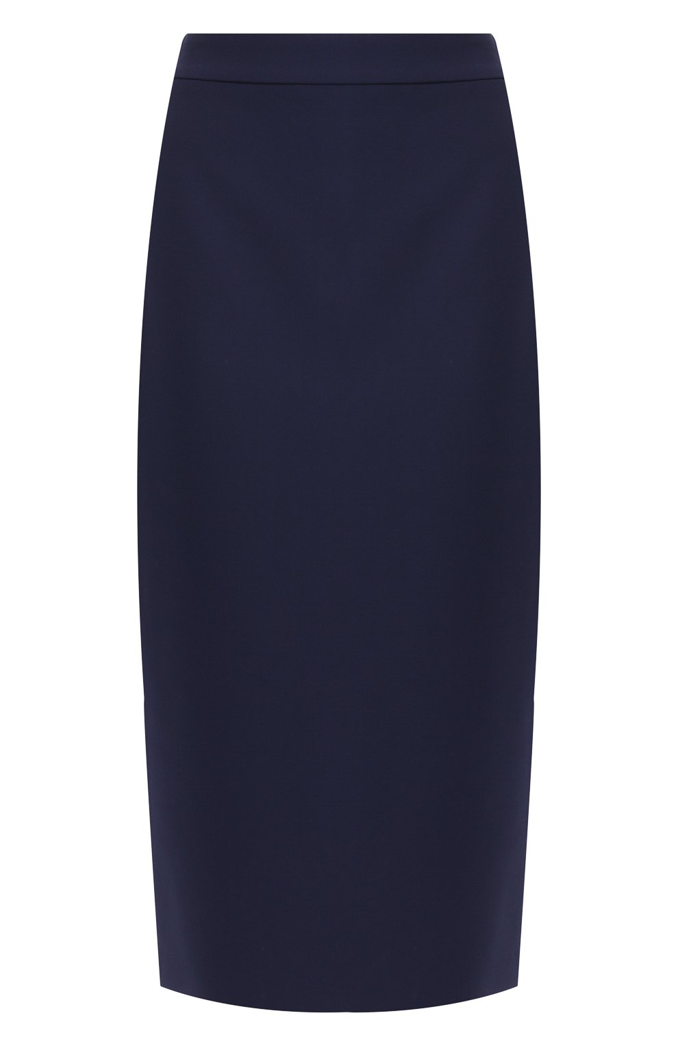 Женская юбка-карандаш BOSS синего цвета, арт. 50400538 | Фото 1