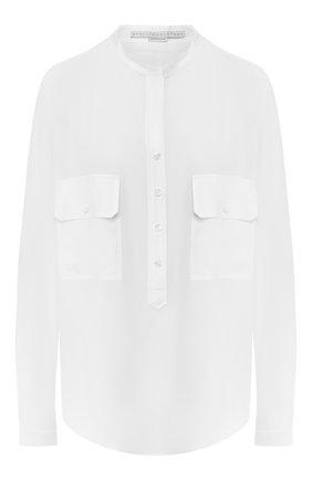 Женская шелковая блузка STELLA MCCARTNEY белого цвета, арт. 531899/SY206 | Фото 1