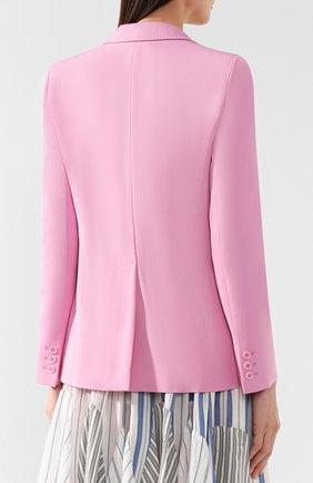 Шерстяной жакет Stella McCartney розовый   Фото №4