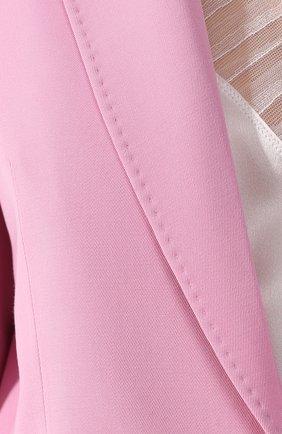 Шерстяной жакет Stella McCartney розовый   Фото №5