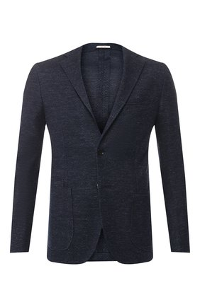 Пиджак из смеси хлопка и льна | Фото №1