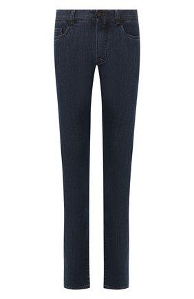Мужские джинсы CANALI темно-синего цвета, арт. 91711HR/PD00018 | Фото 1