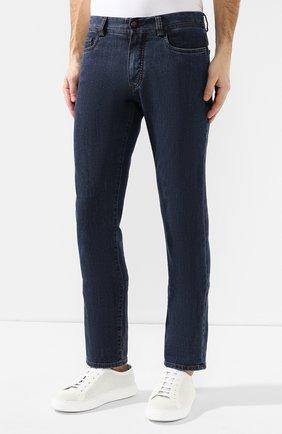 Мужские джинсы CANALI темно-синего цвета, арт. 91711HR/PD00018 | Фото 3
