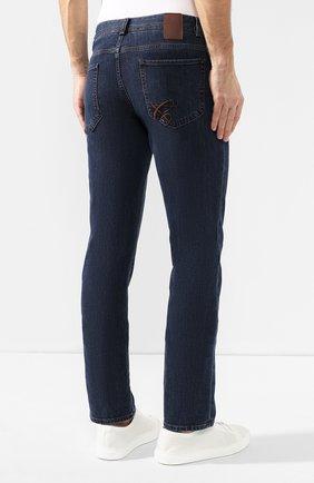 Мужские джинсы CANALI темно-синего цвета, арт. 91711HR/PD00018 | Фото 4