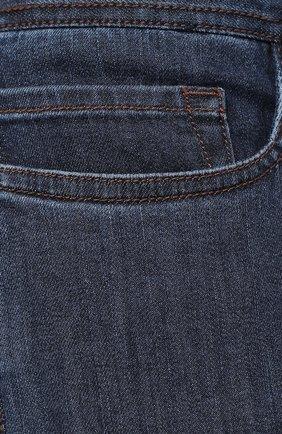 Мужские джинсы CANALI темно-синего цвета, арт. 91711HR/PD00018 | Фото 5