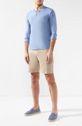 Мужские текстильные эспадрильи CASTANER голубого цвета, арт. 021239 | Фото 2